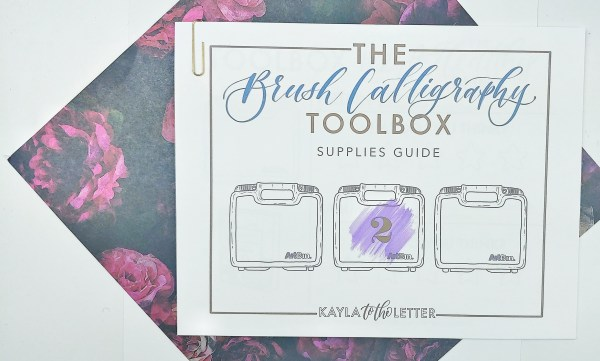Toolbox#2 Supplies Guide