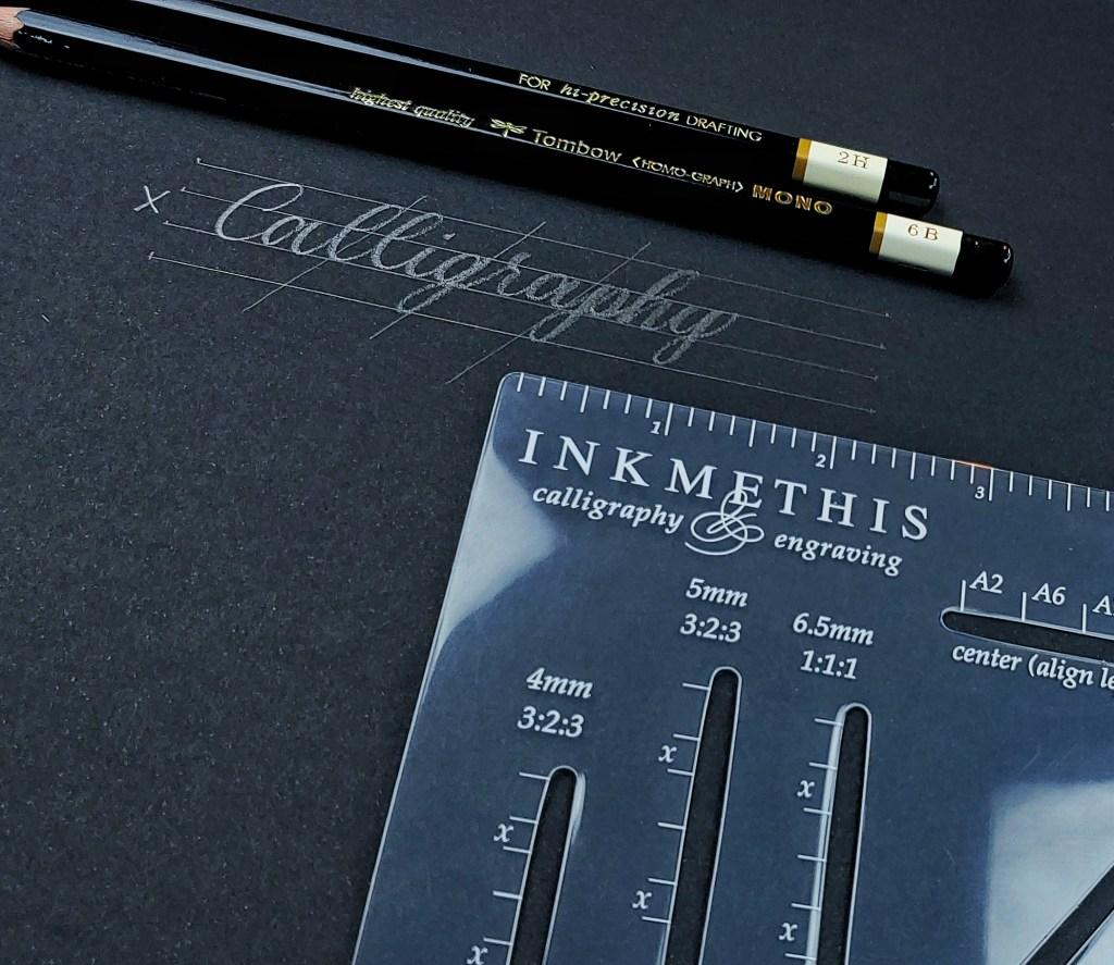 InkMeThis Envelope Calligraphy Ruler