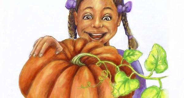 Childrens Illustration: Pumkin Seeds