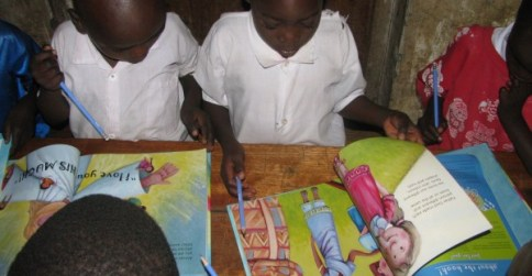 Adoptive Father picture book arrives in Kenya
