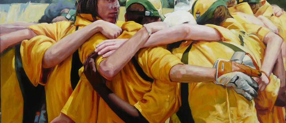 Sports Illustration - Portraiture: Game Plan