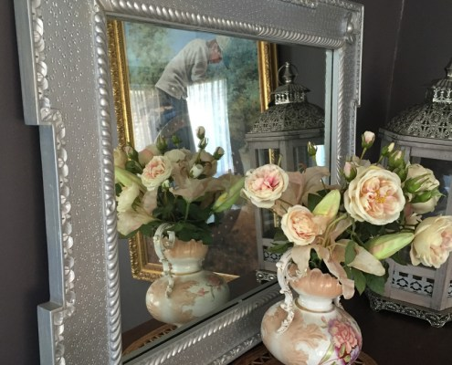 Upcycled Beauty Painted Furniture Makeovers mirror