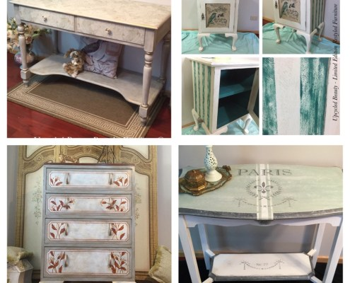 Upcycled Beauty Painted Furniture Makeovers