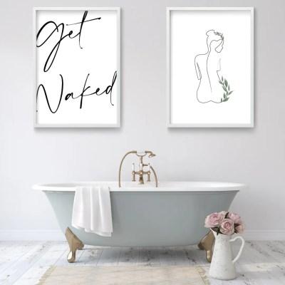 Botanical Bathroom Prints