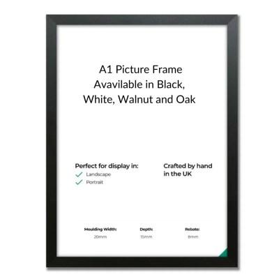 Matt Black A1 Frame