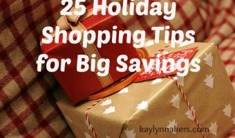 25 Shopping Tips for Big Savings