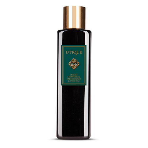 Sandalwood & Patchouli Utique Luxury Shower Gel