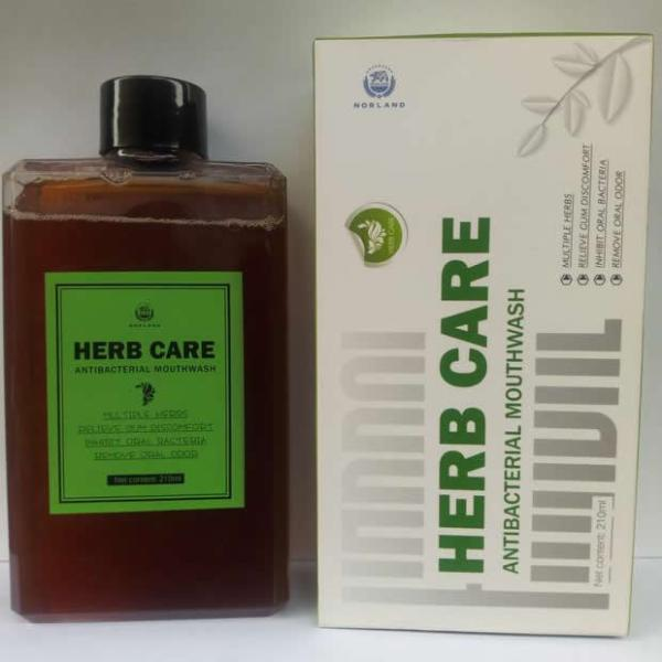 Norland Herb Care Antibacterial Mouthwash