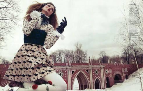 Vogue Japan - 'The Anastasia Of Winter' (December 2013)