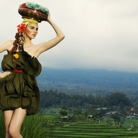 America's Next Top Model Cycle 20 - Photoshoot 10 (Rice Paddy Couture)