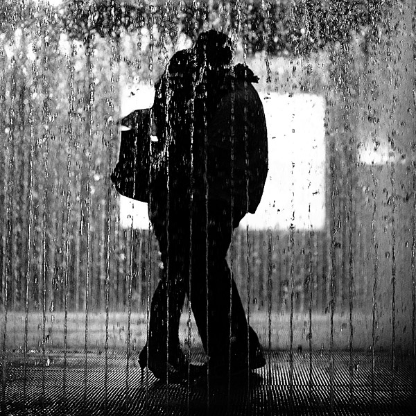 Day 194:  Lovers at London South Bank Fountain