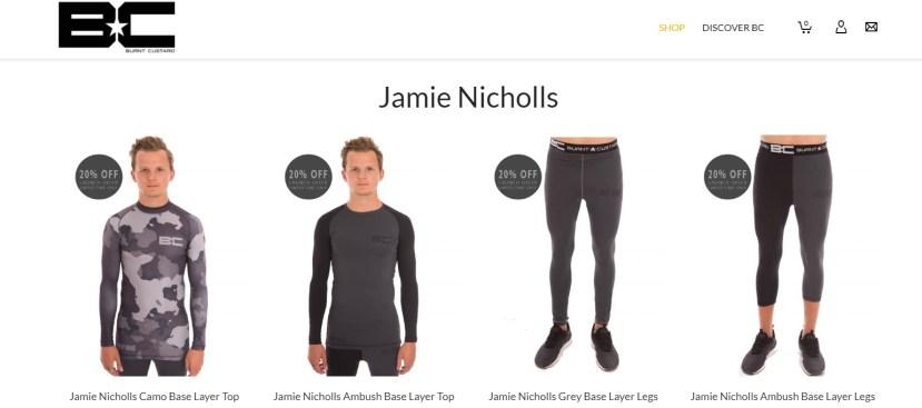 Burnt Custard Jamie Nicholls