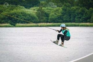Competing in amateur wakeboarding in Surrey