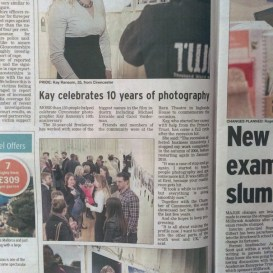 Kay Ransom Photography 10 year photography exhibition