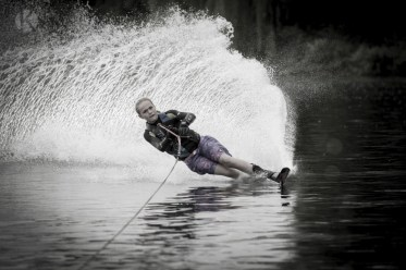 Professional water skiing
