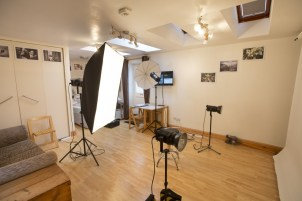 Kay Ransom Photography's photo studio