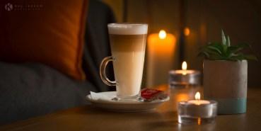 Lakeside Brasserie latte