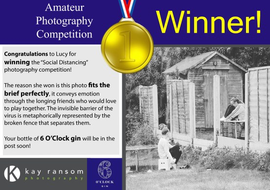 Social Distancing competition WINNER