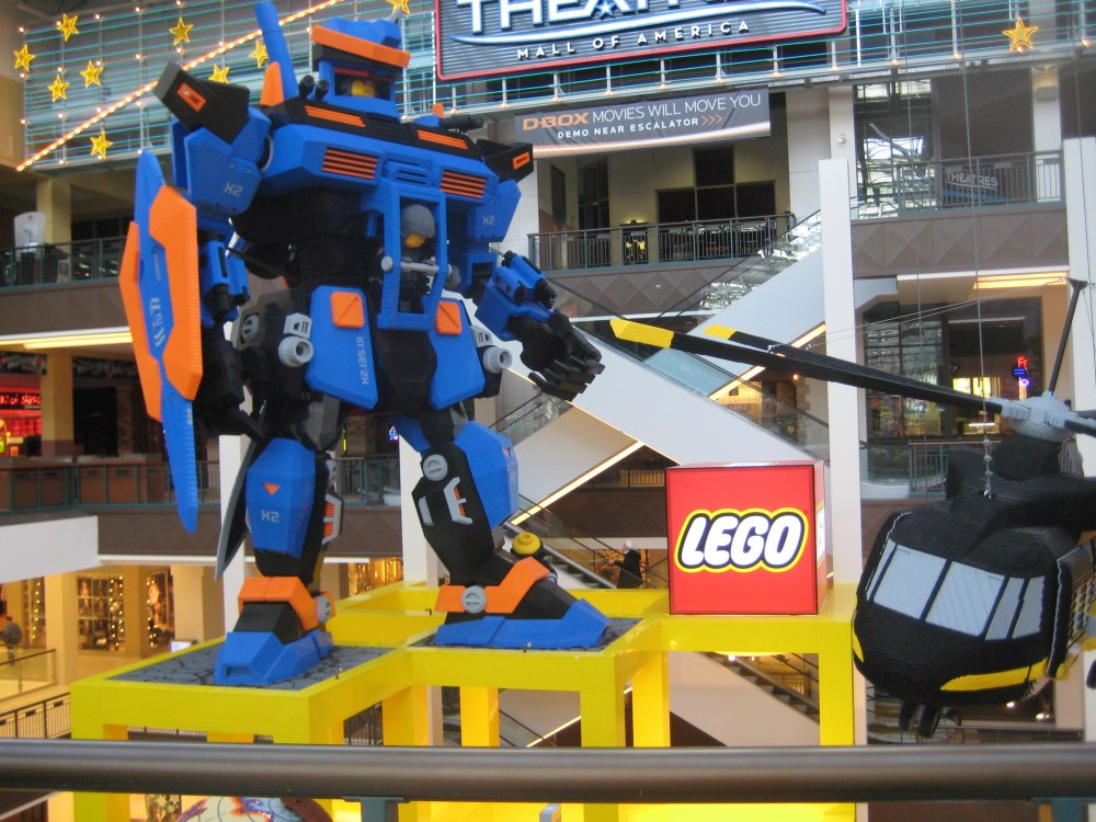 Legoland reopens at Mall of America! (2/3)