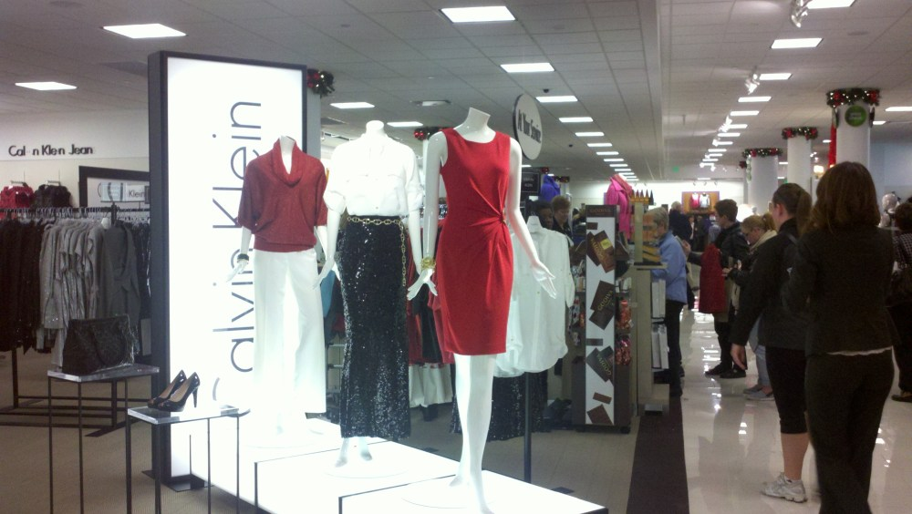 Herberger's New Store at Southdale:  Traffic, Calvin Klein and Michael Kors!!! (3/4)