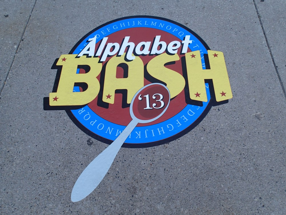 Alphabet Bash 2013:  The Last?????? (1/6)