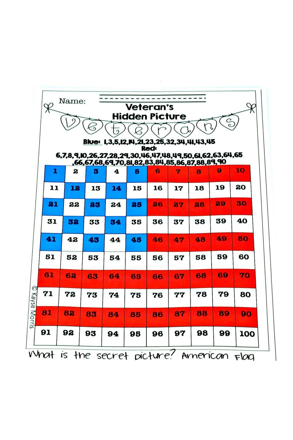 Veterans Day Activities For Elementary Students Kayse Morris