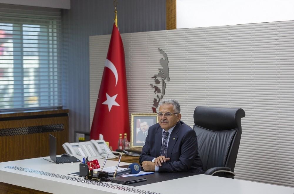 Cumhurbaşkanı Erdoğan'ın boykot çağrısına Başkan Büyükkılıç'tan destek