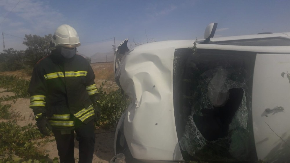 Otomobil takla attı: 1 yaralı