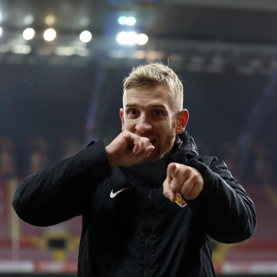 Kayserispor 20 maçta 14 gol attı