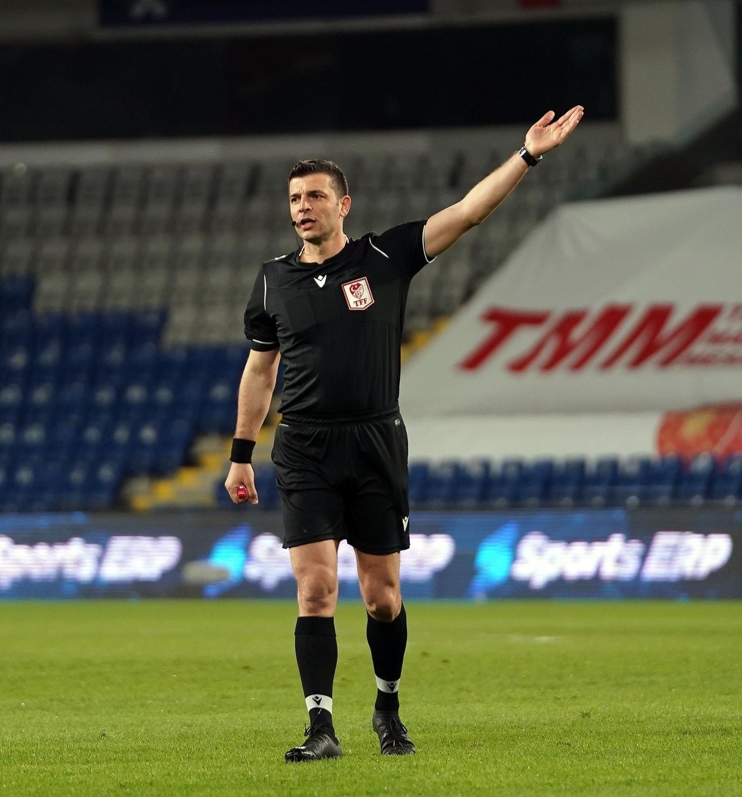 Kayserispor-Gaziantep FK maçını Ümit Öztürk yönetecek