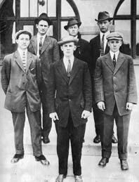 1912 Stock Judging Team
