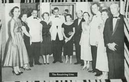 1958 Pres Receiving Line