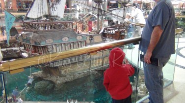 Pirate ship in Edmonton