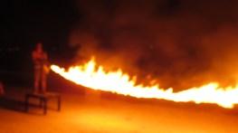 Flaming Jump Rope
