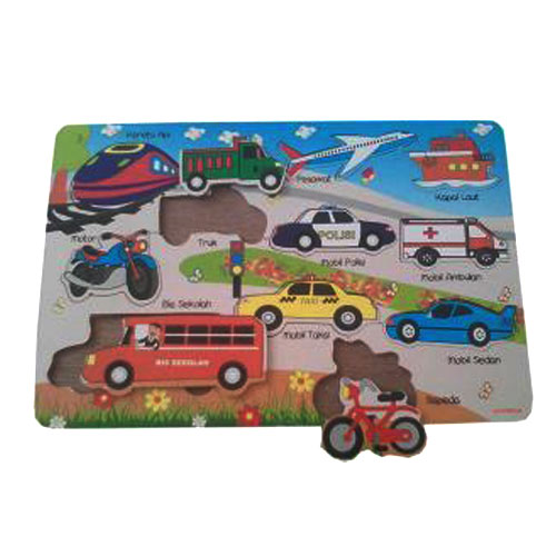 Puzzle Transportasi - Puzzle Transportasi