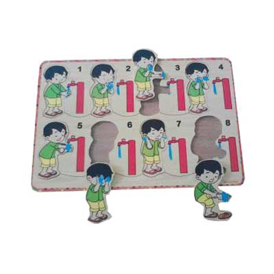 puzzle wudhu - [Best Seller] Aneka Puzzle Dapat 3 Pcs