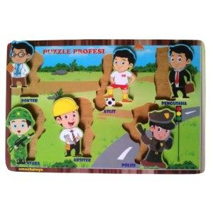puzzle profesi - Mainan Hijaiyah Berdiri Masjid Pesanan Custom