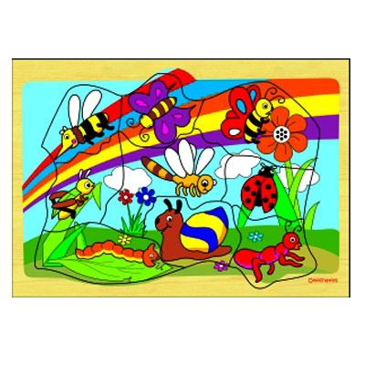 puzzle safari serangga - Puzzle Safari Serangga
