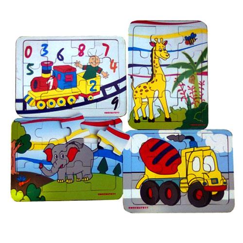 Puzzle Paket Kecil - Puzzle Paket Kecil