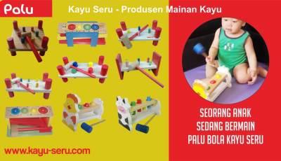 mainan edukatif palu - Manfaat Mainan Palu (Hammer Set)