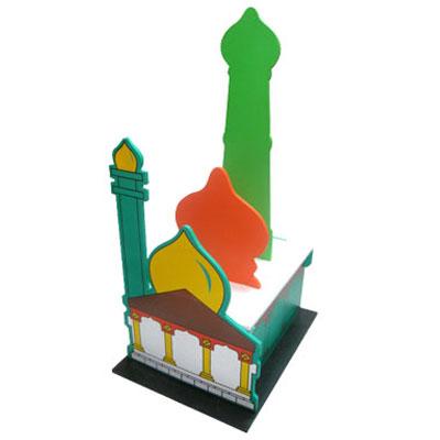 maket masjid - Maket Rumah Ibadah Set