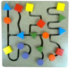 maze tombol - Maze Tombol Geometri