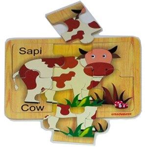 puzzle sapi - Plakat Manasik PAUD Lengkap Dengan Nama Siswa