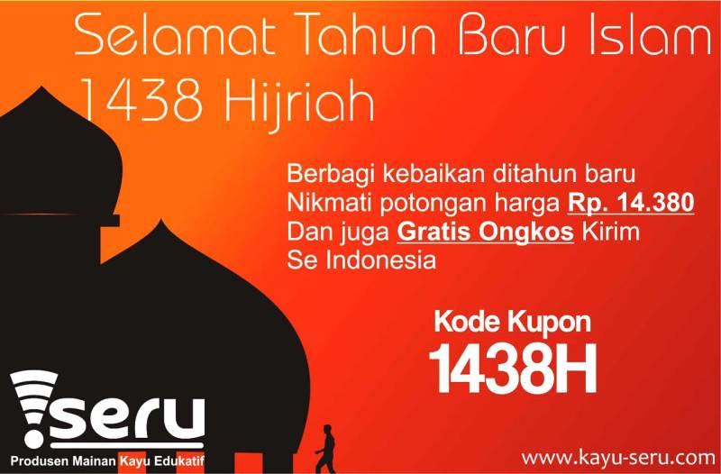 selamat tahun baru islam - Promo Tahun Baru Islam 1438H
