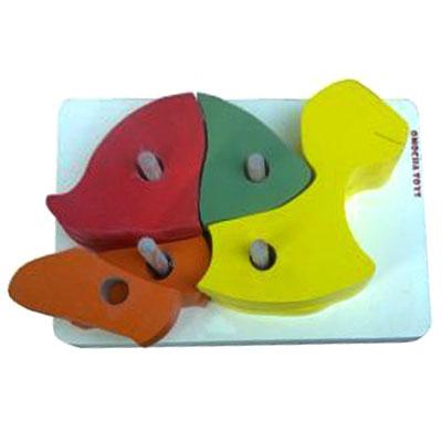 stacking turtle - Puzzle Tusuk Susun Kura-kura
