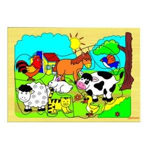 safari hewan ternak - Puzzle Safari Hewan Ternak