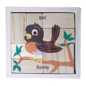 Puzzle Burung Balok - Puzzle Burung - Balok