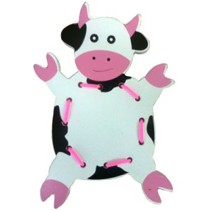 menjahit sapi - Cara Asik Mengajar Anak Mengenal Warna