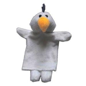 boneka hewan burung kakaktua - Boneka Tangan Burung Kakaktua