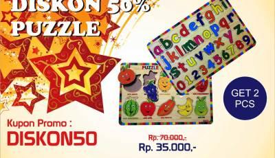 mainan kayu diskon 50 - Puzzle Kayu Diskon 50%... Buruan...!!!